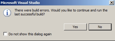 Visual Studio Build Errors